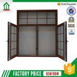 Doppia finestra di telaio personalizzata della stoffa per tendine dell'OEM (WJ-UPVC-060-C)