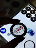 Gobo polychrome personnalisé par professionnel en verre de logo de couleur multiple de qualité