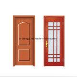 Конструкция двери MDF PVC нутряной ванной комнаты хорошего качества деревянная