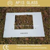 유리제 /Elevator 접촉 스크린 강화 유리를 인쇄하는 4mm 실크 스크린