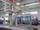 Chaîne de production de mélange concrète de véhicule