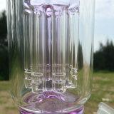 De nieuwe Rokende Pijp van het Water van het Glas van de Aankomst met Roze Oppervlakte (S-GB-247)