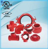 Iron Ductile Grooved Fitting 45 Degree Elbow com FM/UL/Ce Listed