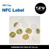 Etiqueta engomada de papel auta-adhesivo C ultraligera RFID de NFC