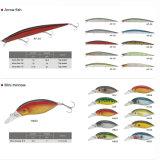 堅いプラスチック釣は製造業者の人工的な小魚の魅惑を魅惑する