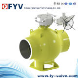API 6D Electric Fully Welded Ball Valve