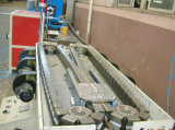 Одностеночные продукция трубы из волнистого листового металла пластмассы PE/PP/PVC/линия штрангя-прессовани