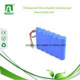 Pack batterie rechargeable du lithium 18650 22.2V pour les outils sans fil