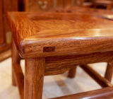 Festes Holz-Fuss-Schemel-moderner Wohnzimmer-Form-Fuss-Schemel-Quadrat-Schemel (M-X2045)