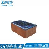 Baquet surfant acrylique autonome portatif de STATION THERMALE de bain de massage de gicleur (M-3337)