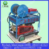 Linha de esgoto de alta pressão equipamento da máquina do líquido de limpeza do motor Diesel da limpeza