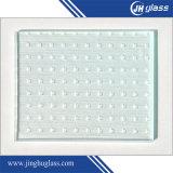 3/4/5 / 6mm de color claro templado figura de vidrio patrón