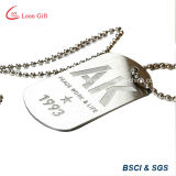 Military를 위한 청동색 Color Metal Dog Tag