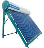 再生可能エネルギーの太陽給湯装置