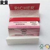 より豊富で自然なゴムの工場喫煙のロール用紙