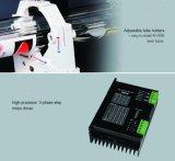Macchina della marcatura del laser del CO2 dei jeans alta precisione/di alta velocità con su e giù la Tabella