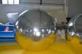 Sfera gonfiabile gonfiabile dello specchio di doppio strato, sfera della decorazione della visualizzazione della fase da vendere