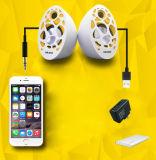 Heißer verkaufender beweglicher USB-Minilautsprecher mit Bienenwabe-Form