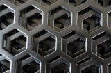 0.5mmから4.0mmの穴があいた金属のパネル