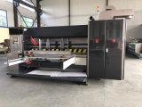 Automatischer 2 Farbe gewellter Drucker Slotter und sterben Scherblock