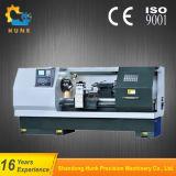 Presion 0.01mmの最高速度Ck6180 CNCの旋盤の平床式トレーラー機械の処理