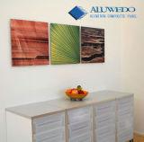 Copie directe de photo sur le panneau composé en aluminium pour la décoration de mur