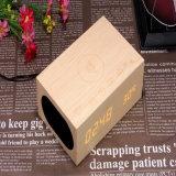 Коробка диктора Bluetooth портативного миниого деревянного беспроволочного диктора Bluetooth деревянная с V4.0