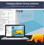 3D 인쇄 기계 장비 가구 USB 슬롯 SD 카드를 가진 고정확도 Prusa I3 알루미늄 단면도 온상 DIY 장비 3D 인쇄 기계