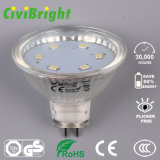 3W MR16 LED Birne Dimmable Glaslampen-Scheinwerfer des shell-LED