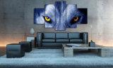 HDはオオカミの目のグループの絵画キャンバスの版画室の装飾プリントポスター映像のキャンバスMc016を印刷した