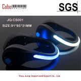 LED-leuchtendes Schuh-Sicherheits-WARNING-laufender Sport, der Nachtclip-Licht komprimiert