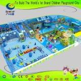 Спортивная площадка игры дешевого крытого центра игры детей мягкая