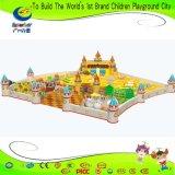 Бассеина шарика спортивной площадки океана игра опирающийся на определённую тему крытого большого мягкая