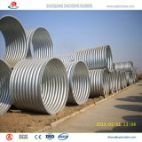 Tubo acanalado del metal del diámetro grande con alta calidad