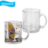Fornitore trasparente dello spazio in bianco della tazza della tazza di vetro libera di sublimazione