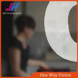 Película unidireccional negra de la visión para la decoración de la ventana