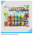 5*43ml Common Color Finger Paint für Students und Kids (CLW06022)
