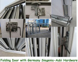Австралийские стандартные двойные застекленные двери складчатости Bi