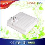 BSCIの承認の実線の二重保護快適な電気毛布
