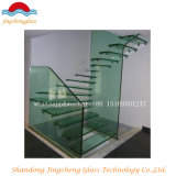 Effacer le verre feuilleté Tempered coloré pour l'étage et les escaliers