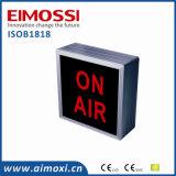 Método del interruptor del LED en muestras funcionando del aire