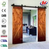 Античная раздвижная дверь амбара роликов двери амбара Jhk-Sk09 сползая дверь амбара