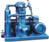 Explosieve Industriële Gascompressor met hoge druk vloeibaar aardolie (KZW0.6 / 8-12)