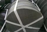 66 x 110網、オランダ語は黒い鉄のハードウェアのワイヤークロスフィルター網を編む