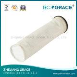 Sachet filtre de pp de la poussière résistante à la corrosion de tissu