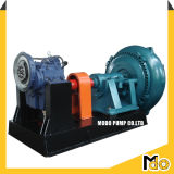 Pompe à gravier centrifuge horizontale haute chrome
