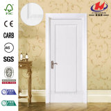 Porta de madeira principal branca de HDF