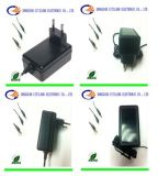 18W CC Adapter di CA del VDE Universal per Switching Power Supply Black