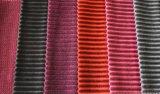 Tissu de polyester de velours pour l'usage de sofa