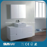 Governi di vanità della stanza da bagno di stile dell'Australia di alta qualità con il portello di vetro (SW-C1500LG)